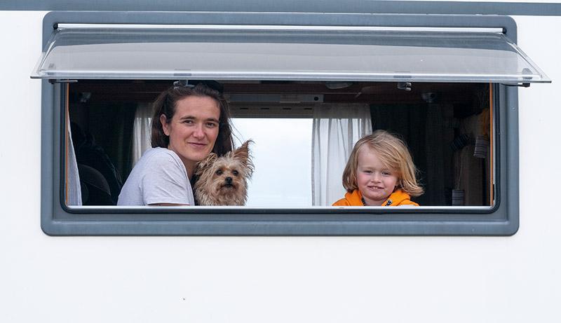 Wir leben im Wohnmobil mit Kindern